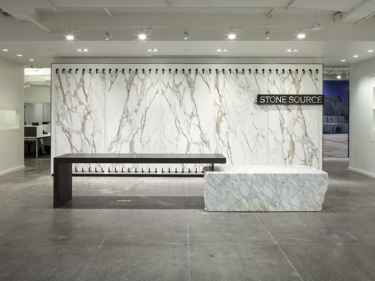 Stone Source New York Granite Shop Showroom Tile