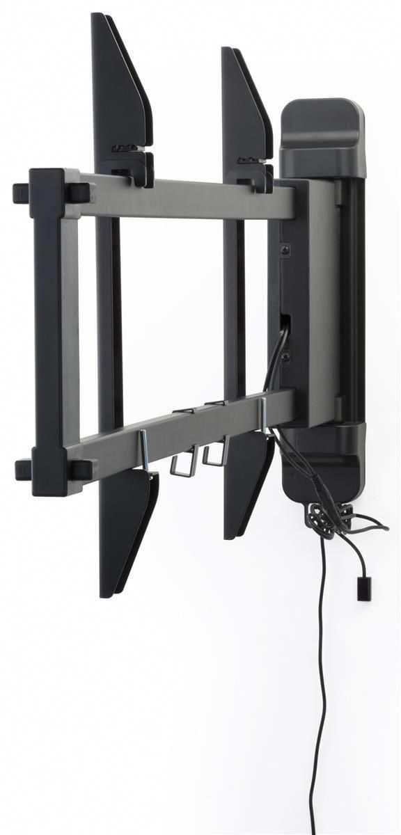 Motorized Tv Wall Mount W Panning Bracket 26 47 Screens Black Tvbrackets