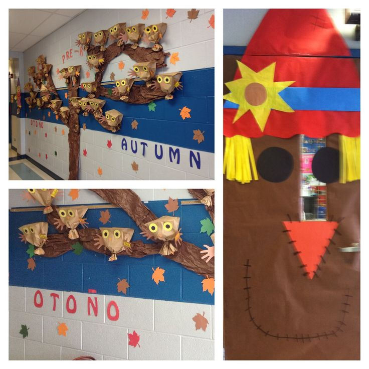 Fall Tree Classroom Door Decorations : Images about classroom on pinterest