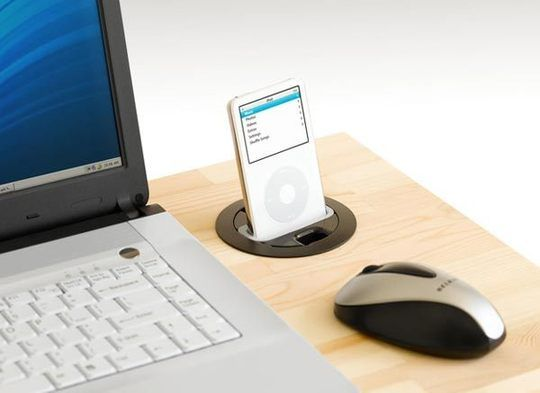 Six USB & Power Grommets for the Desk and Kitchen   Apartment Therapy