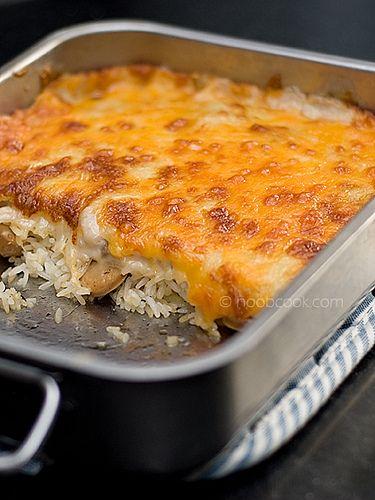 Sausage Baked Rice Recipe