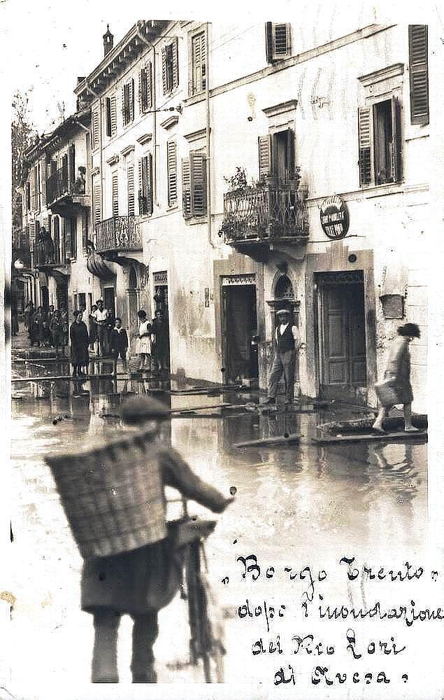Verona - Borgo Trento - Inondazione del Rio Lori di Avesa