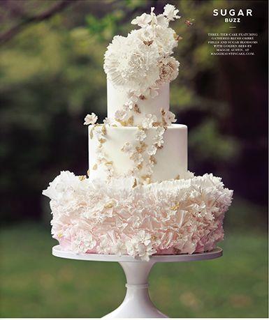 beautiful wedding cake decor