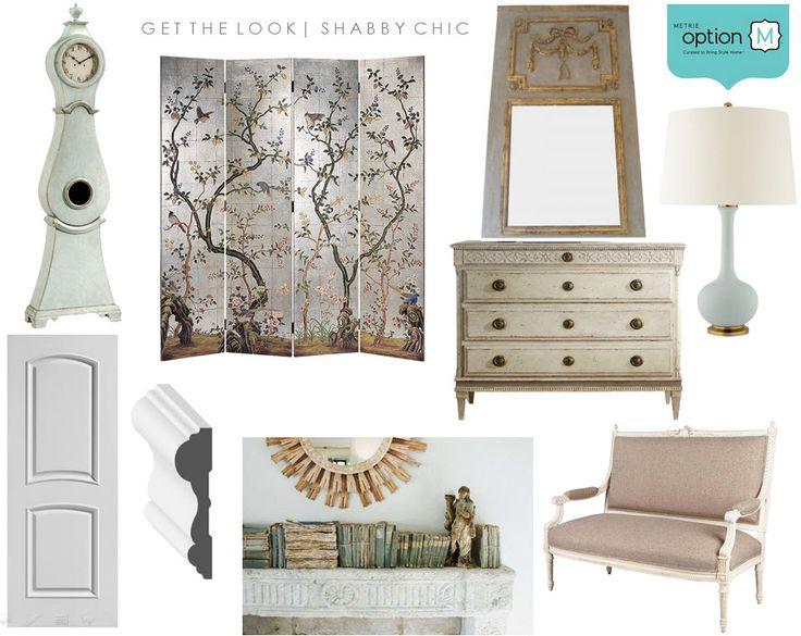 My Dream Option {M} Shabby Chic Living room moodboard