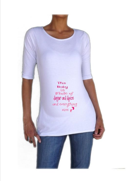 Cute Fun Maternity Shirt This Baby Made Of By DJammarMaternity, $27.00