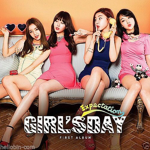 GIRL'S DAY - Expectation (Vol. 1) CD + GIFT mini POSTCARD kpop