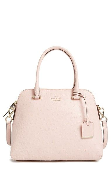 kate+spade+new+york+'cedar+street+-+ostrich+maise'+satchel+available+at+#Nordstrom