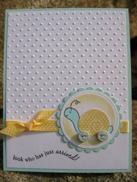 New Arrival by catcrazy - Cards and Paper Crafts at Splitcoaststampers