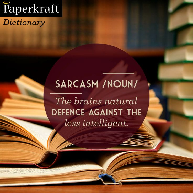 Sarcasm: A definition #sarcasm #urbandictionary #funny