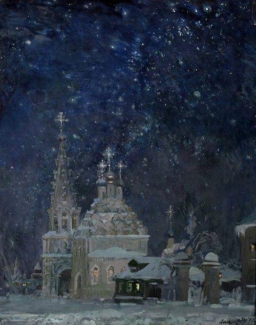 Michael Abakumov - Christmas. (Михаил Абакумов Рождество)