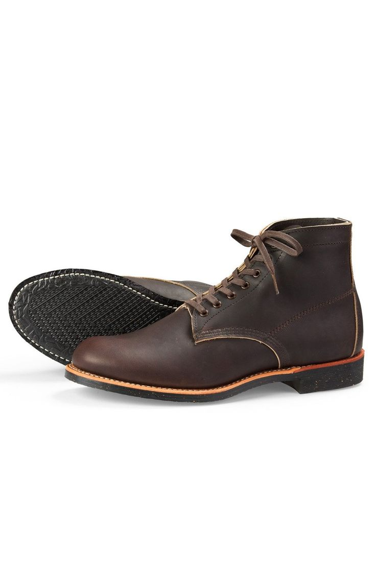 "Red Wing Shoes® - Merchant 6"" Boot Ebony Harness Leather (R8061)"