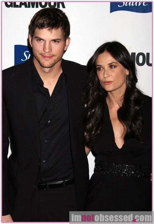 Courtside Courtship from Demi Moore & Ashton Kutcher ...