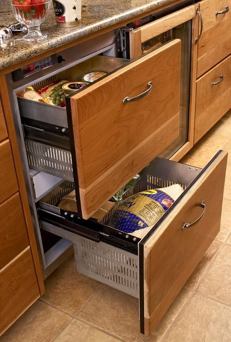 Undercounter Refrigerator Drawers Theres No Place Like