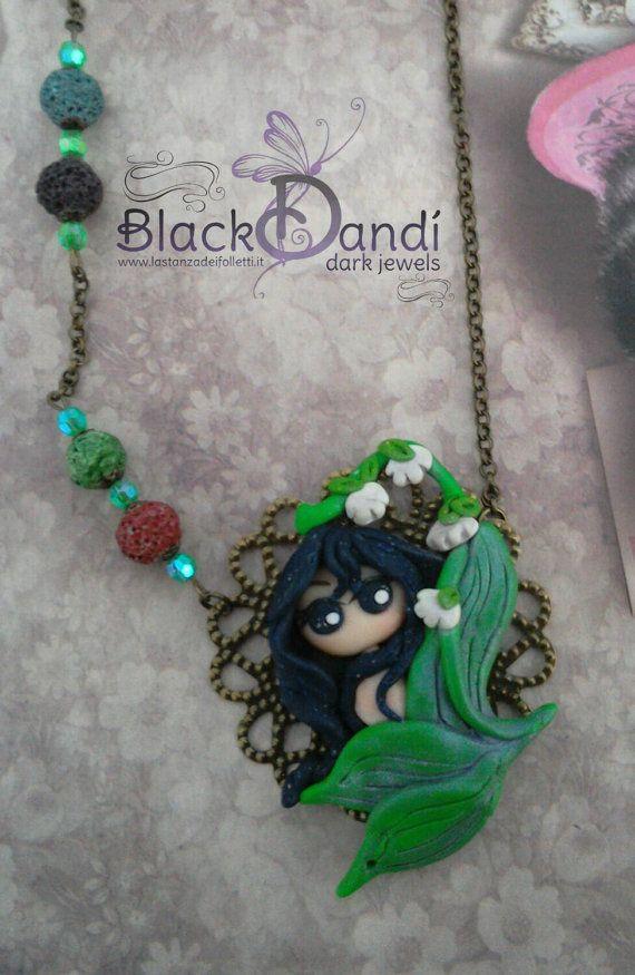 Cameo necklace