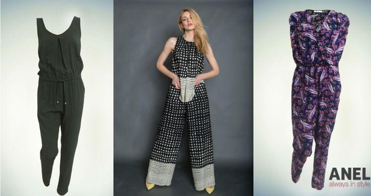 Φαρδιά ή στενή, casual ή επίσημη, η ολόσωμη φόρμα μας συστήνεται το φετινό καλοκαίρι με παιχνιδιάρικη διάθεση. Μάθε πως να φορέσεις την ολόσωμη φόρμα το καλοκαίρι του 2015 με στυλ και έπειτα επέλεξε αυτή που σου ταιριάζει! ►http://www.anel-fashion.gr/pick-of-the-week-%CE%BF%CE%BB%CF%8C%CF%83%CF%89%CE%BC%CE%B7-%CF%86%CF%8C%CF%81%CE%BC%CE%B1/