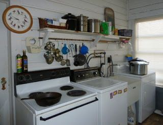 My Back Porch Summer / Canning Kitchen U0026 Laundry Room. Great Way To Keep The Part 94