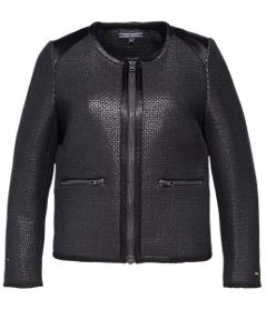 TOMMY HILFIGER - Fifi Jack Stand out this holiday season with our tailored boucle jacket.