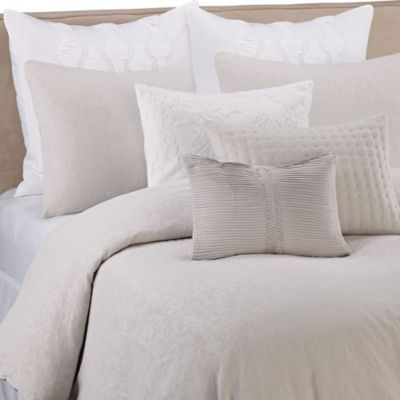 dress your bed in luxury with the unique vera wang textured floral duvet cover embellished with lighter grey floral loop embroidery on a quartz grey ground