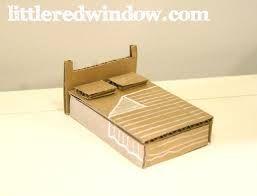 Resultado de imagem para cardboard bed