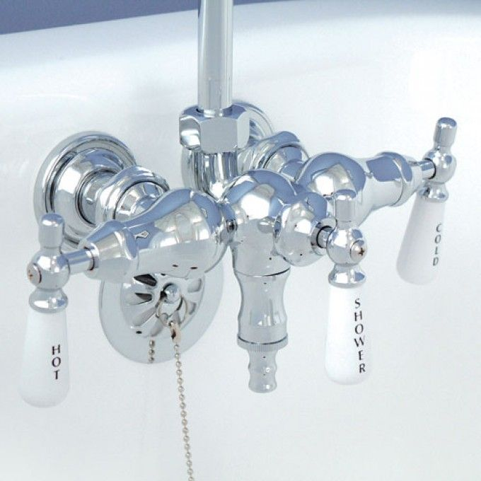 Clawfoot Tub Accessories Shower Shower Enclosures at The Bath