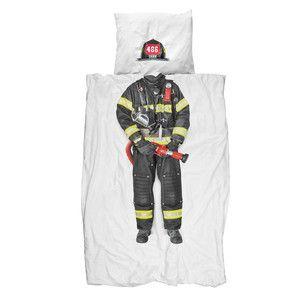 Povlečení Snurk Firefighter, 140 x 200 cm