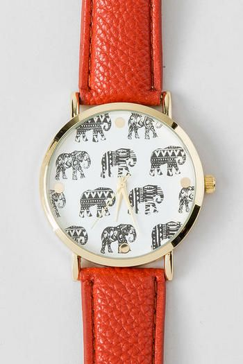 Elephant Watch Montre éléphant Femme 2016  #montrestendance2016 #montresfantaisies #bijouxcreateur #elephant