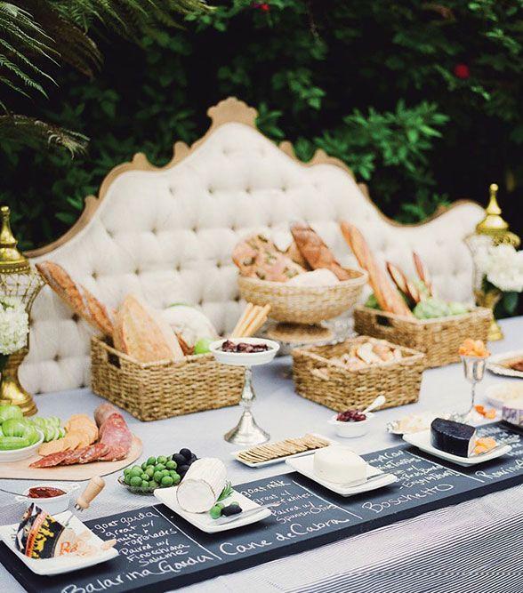 Wedding Reception Food Station Ideas: Colin Cowie Weddings