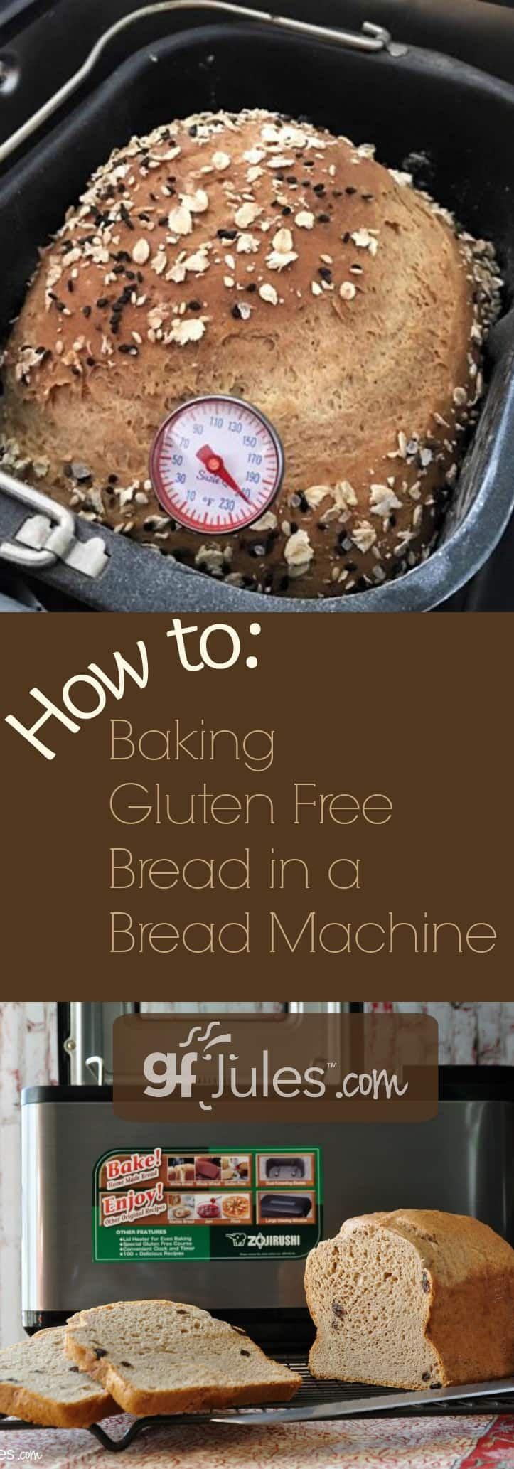 How to Bake Gluten Free Bread in a Bread Maker | gfJules.com
