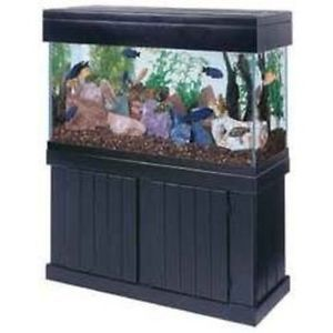 Fish Tank Stands | 90 Gallon Fish Aquarium Tank Stand Canopy Sump Filter and More | eBay