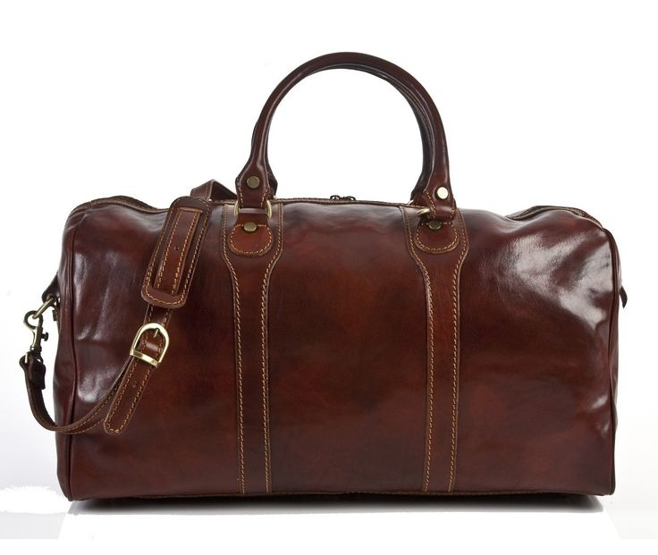 "Tony Perotti Amato 20"" Itallian Leather Duffel & Reviews 