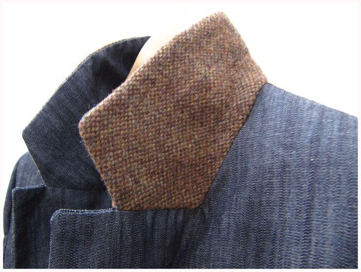 denim-wool jacket www.ropadesastre.com