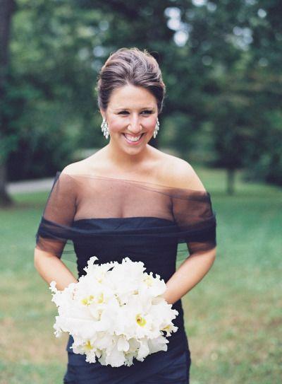 Elegant bridesmaid: http://www.stylemepretty.com/little-black-book-blog/2015/04/14/rustic-elegant-fall-wedding-at-rt-lodge/ | Photography: Natalie Watson - http://www.nataliewatsonphotography.com/