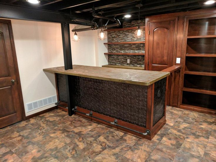Beautiful Raised Flooring for Basement