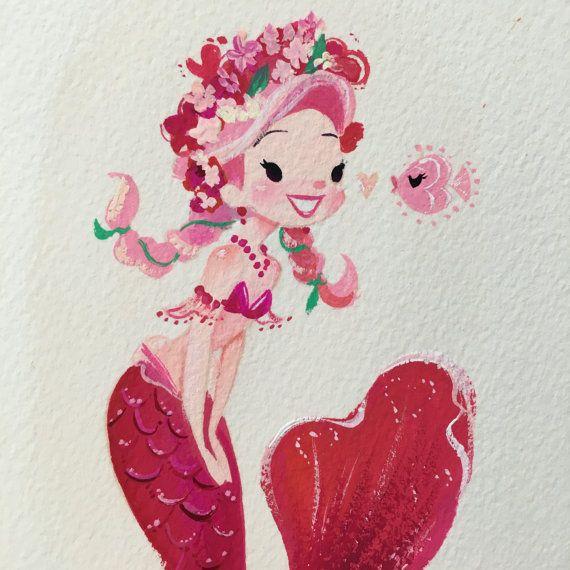 ORIGINAL pink mini mermie