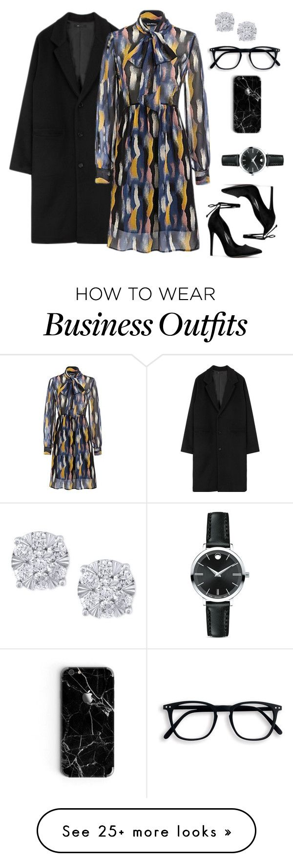 """""""Wear this to Work #1"""" by treceefab on Polyvore featuring Movado, Effy Jewelry, WorkWear and ootd"""