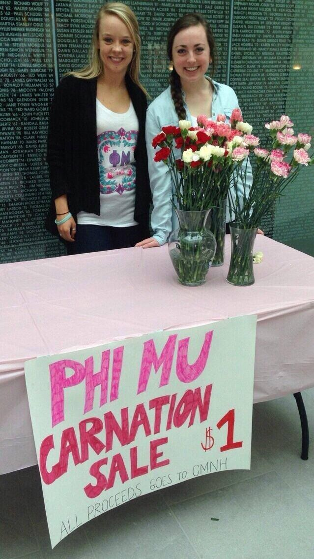 Valentine's Day Carnation Sale for Children's Miracle Network Hospitals
