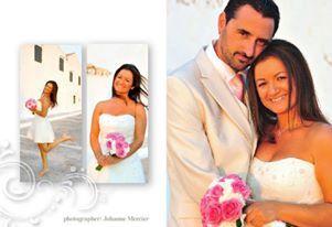 Real bride Tina by Marianna Kastrinos Couture  Photo:Johanne Mercier