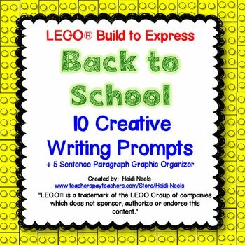 the creative writing building with lego