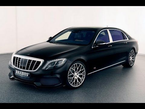 MERCEDES-MAYBACH S600 TUNED BY BRABUS TO 887HP