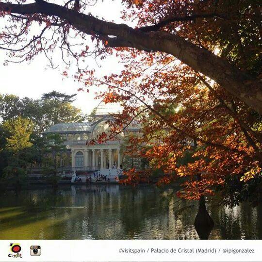 Parque del Retiro. Palacio de Cristal