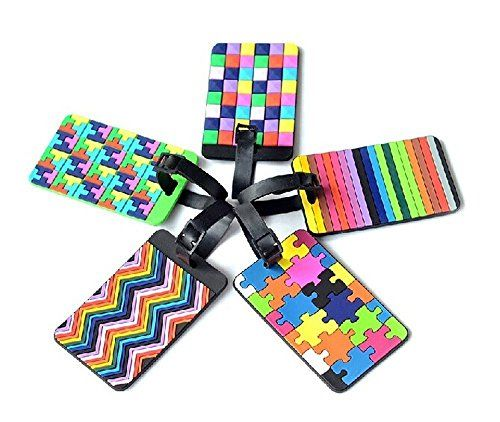 #Adecco #LLC #5pcs #Colorful #Tetris #Pattern #Rubber ID #Tags #Business #Card #Holder for #Luggage #Baggage #Travel #Identifier, #Suitcase #Label High quality #rubber ID #business name #card #holder Adjustable protective #rubber strap provides privacy protection #Colorful 5 different patterns #luggage tag https://travel.boutiquecloset.com/product/adecco-llc-5pcs-colorful-tetris-pattern-rubber-id-tags-business-card-holder-for-luggage-baggage-travel-identifier-suitcase-label/