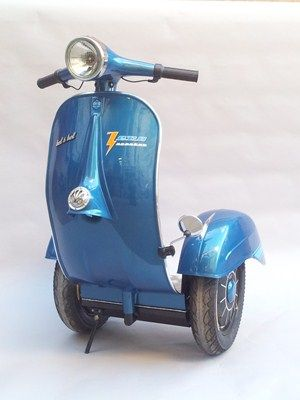 Vespa-inspired Segway - Motorcycle news : General news - Visordown-Made by hand, the 'Zero scooter' is constructed using real Vespa scooter panels and is fully made to order with customisable colours, logos and vinyl available at extra cost.  Read more: http://www.visordown.com/motorcycle-news--general-news/vespa-inspired-segway/24201.html#ixzz33qaIbcVH