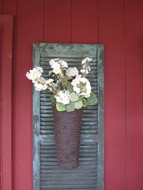15 Uses For Old Shutters - Christinas Adventures