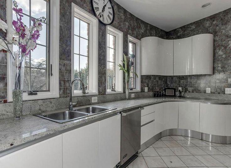 30 gray and white kitchen ideas gray white kitchen grey backsplash gray tile backsplash on kitchen ideas white and grey id=41603