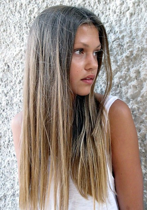 ombre: Hair Colors, Straight Hair, Natural Colors, Long Hairstyles, Haircolor, Ombre Hair, Ombrehair, Longhair, Hair Trends