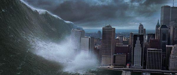 Deep Impact (1998). in 2019 | Tsunami waves, Huge waves ...