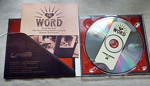 The Word CD (2001)Blues John Medeski North Mississippi Allstars Robert Randolph  #groovedoutgospelmusic