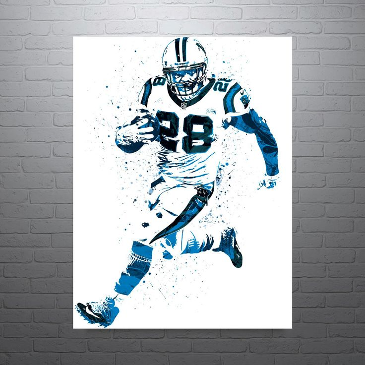 Jonathan Stewart Carolina Panthers Poster