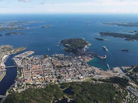Kristiansand city Norway- KSAND