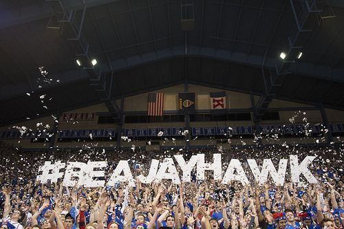 Be a Jayhawk ... 2014 by The University of Kansas Official Flickr Site, via Flickr